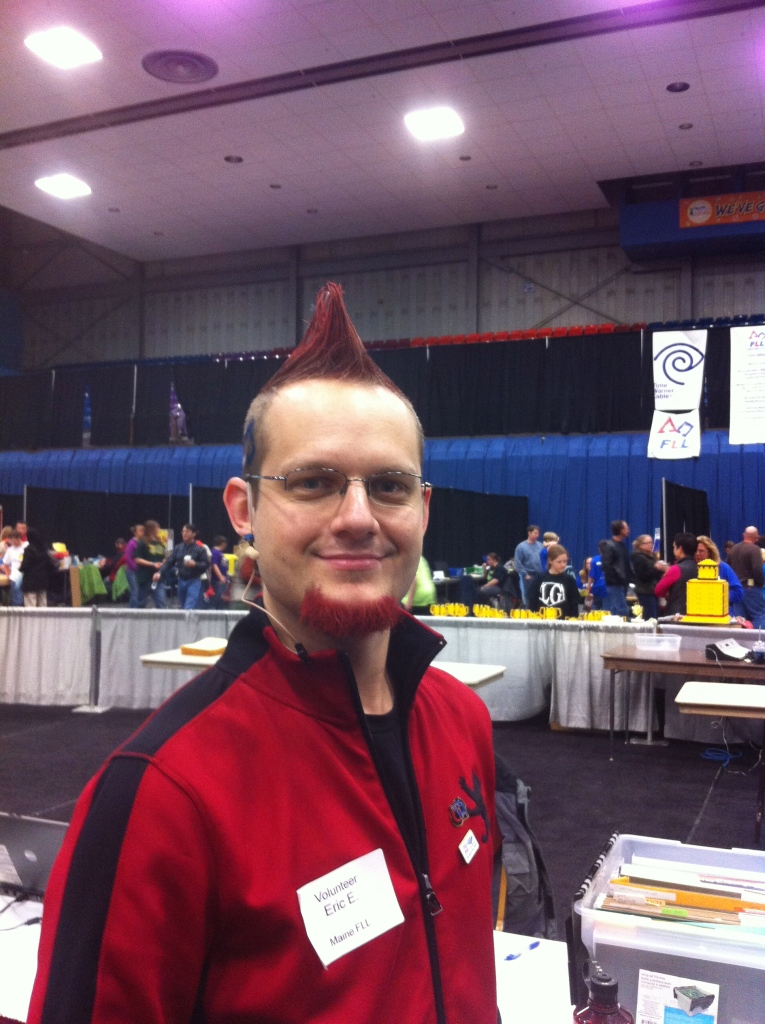 Eric Eckhardt, master of ceremonies.